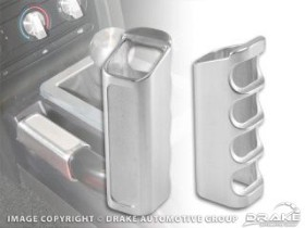 Scott Drake Parking Brake Handle Cover Billet Aluminum (05-09)