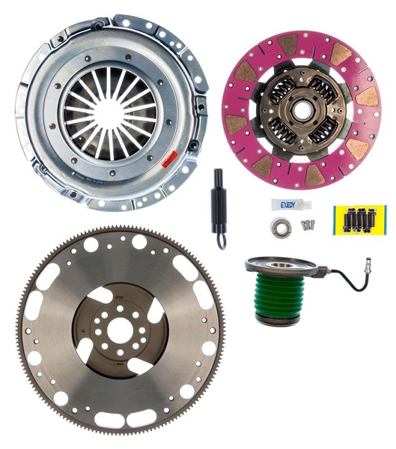 EXEDY Mach 600 GT500 Stage 2 Clutch Kit w/ CSC and Flywheel (2007-2014)