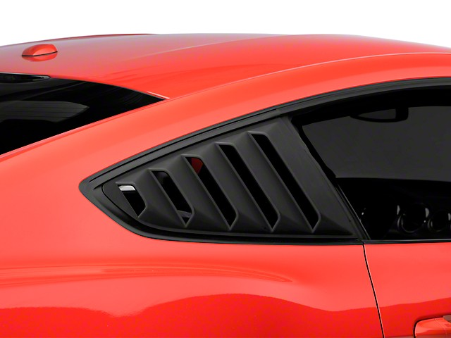 DefenderWorx Mustang Rear Quarter Window Louvers (2015-2021)