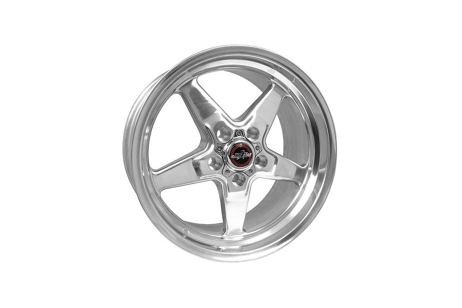 Race Star Wheels Mustang 92 Drag Star Polished Wheel 20x9