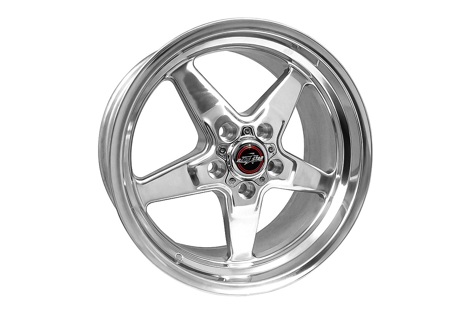 Race Star Mustang 92 Drag Star Polished Wheel - 20x6 (2005-2021)