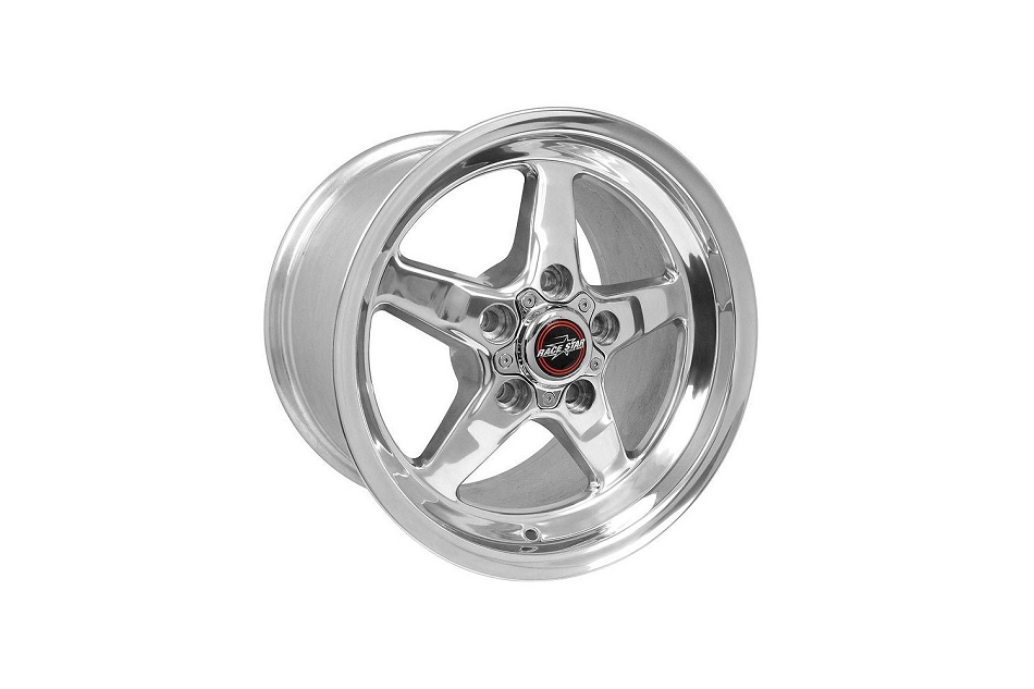 Race Star Mustang 92 Drag Star Polished Wheel - 15x10 (2005-2014)