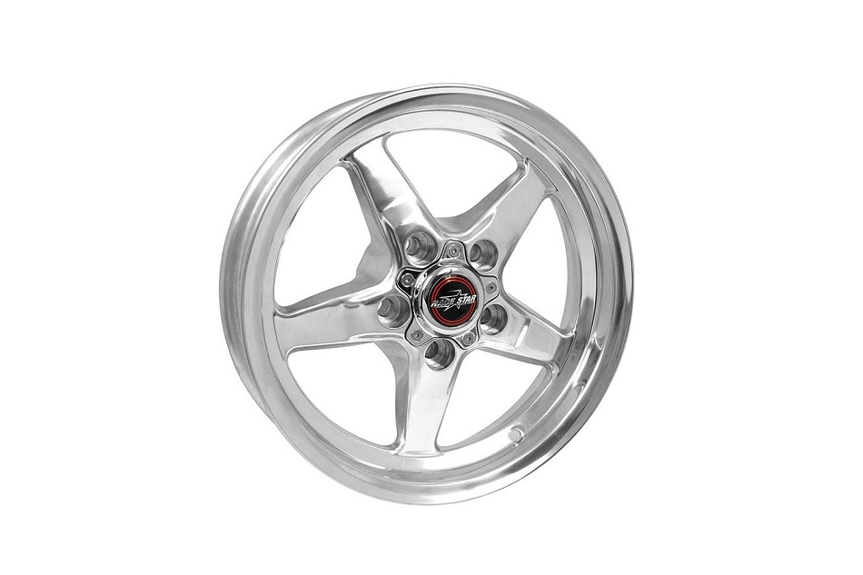 Race Star Mustang 92 Drag Star Polished Wheel - 15x3.75 (1979-2014)