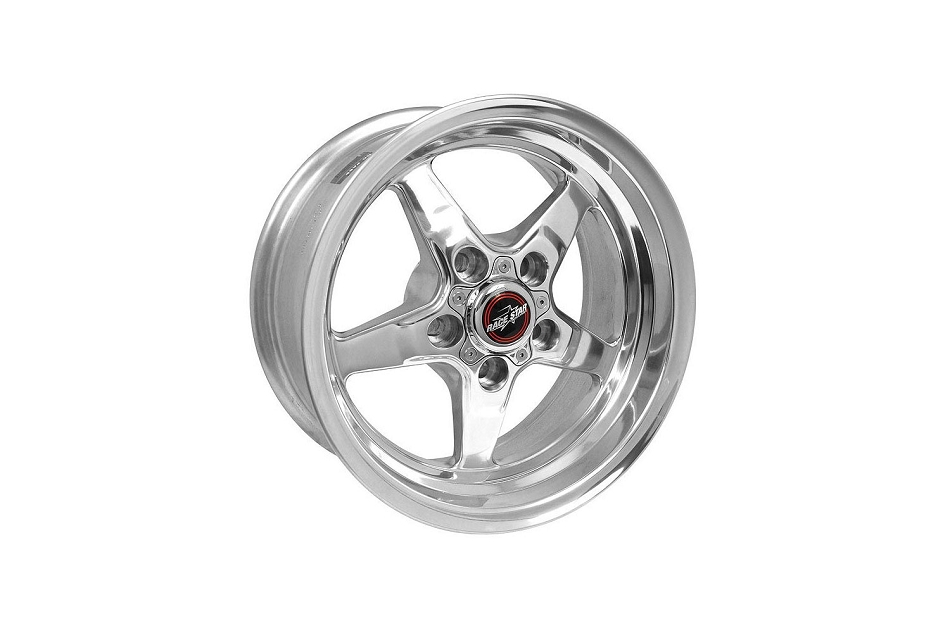 Race Star Wheels Mustang 92 Drag Star Polished Wheel 15x7