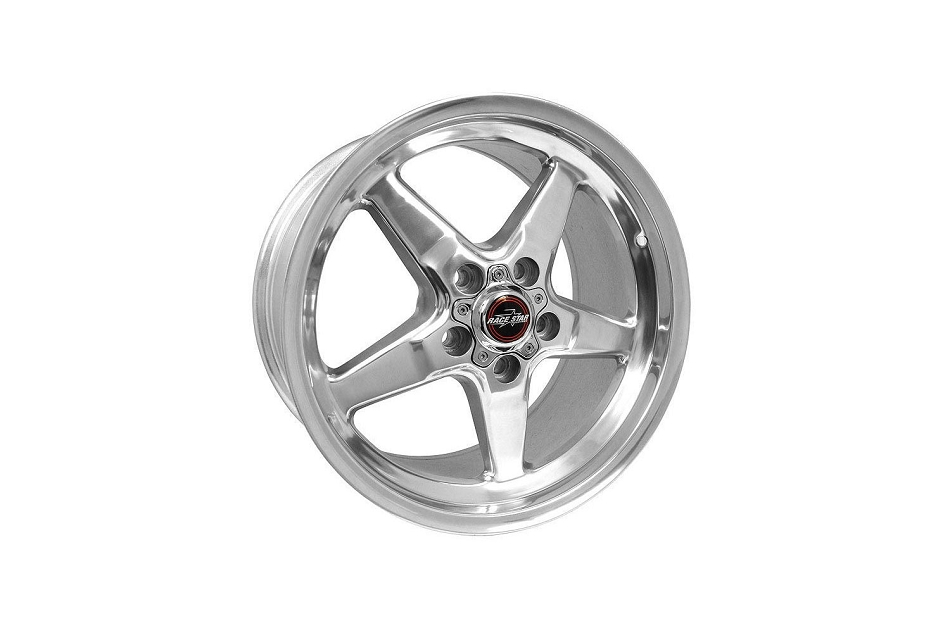 Race Star Wheels Mustang 92 Drag Star Polished 17x10.5