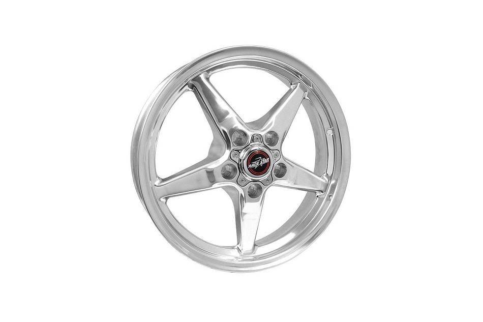 Race Star Wheels Mustang 92 Drag Star Polished 17x4.5