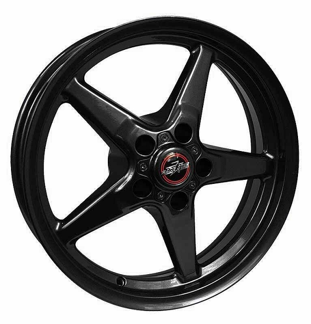 Race Star Mustang 92 Drag Star Gloss Black Wheel - 20x6 (2005-2021)