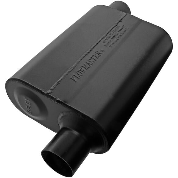 Flowmaster Mustang Universal Super 44 Muffler - 2.25 Offset In / 2.25 Offset Out (1986-2013)