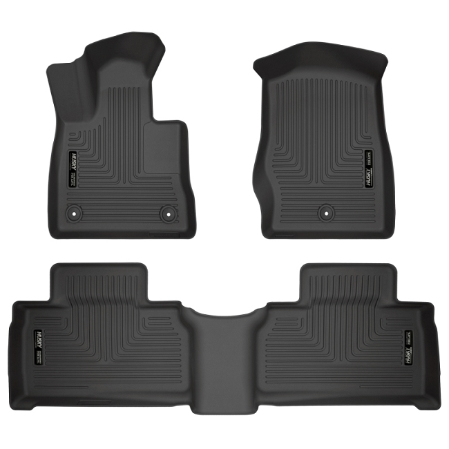 Husky Liners Explorer WeatherBeater Front  and Second Row Floor Mats (2020)