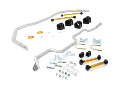 Whiteline Mustang Front & Rear Adjustable Sway Bar Kit (2005-2014)