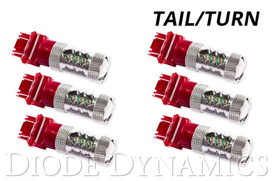 Diode Dynamics Mustang Turn/Tail Light LED Set of 6  (94-09 All)