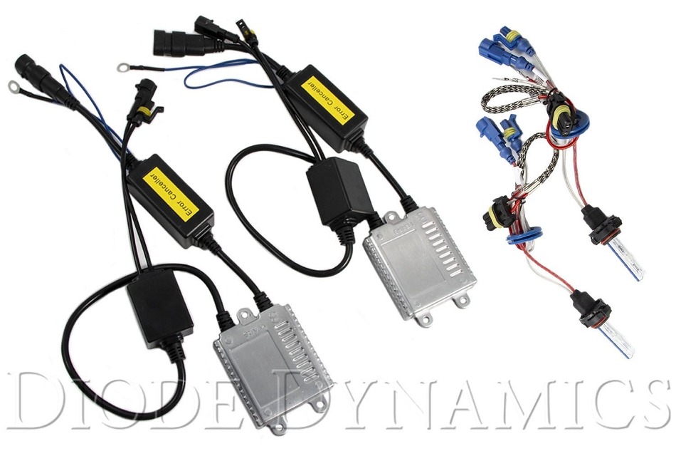 Diode Dynamics Mustang Fog Light HID Conversion Kit (07-14 GT500)