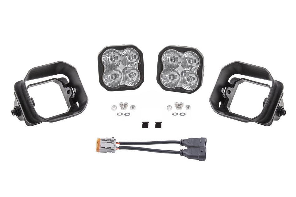 Diode Dynamics F-150 / F-250 / F-350 Type F2 SS3 LED Fog Light Kit (2015-2020)