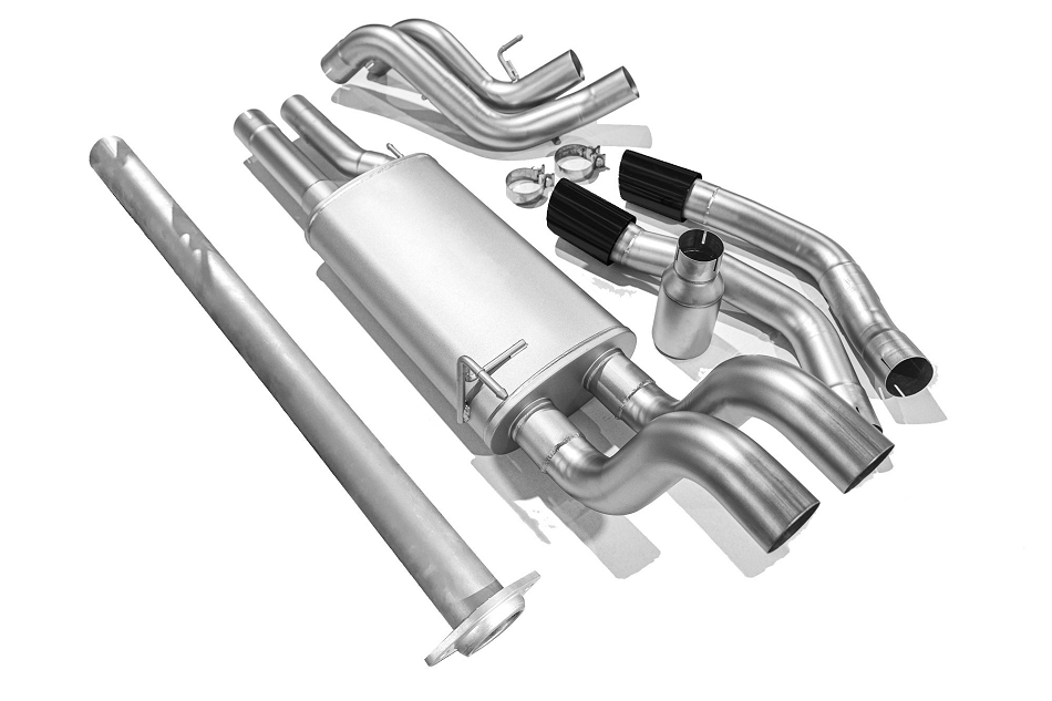 LTH F-150 5.0L Cat-Back Exhaust - Black Tips (2015-2020)