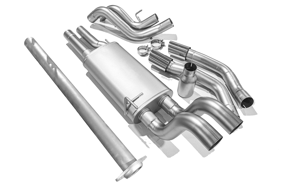 LTH F-150 5.0L Cat-Back Exhaust - Polished Tips (2015-2020)