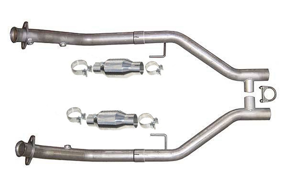 Pypes Mustang GT Catted H-Pipe (2005-2010)