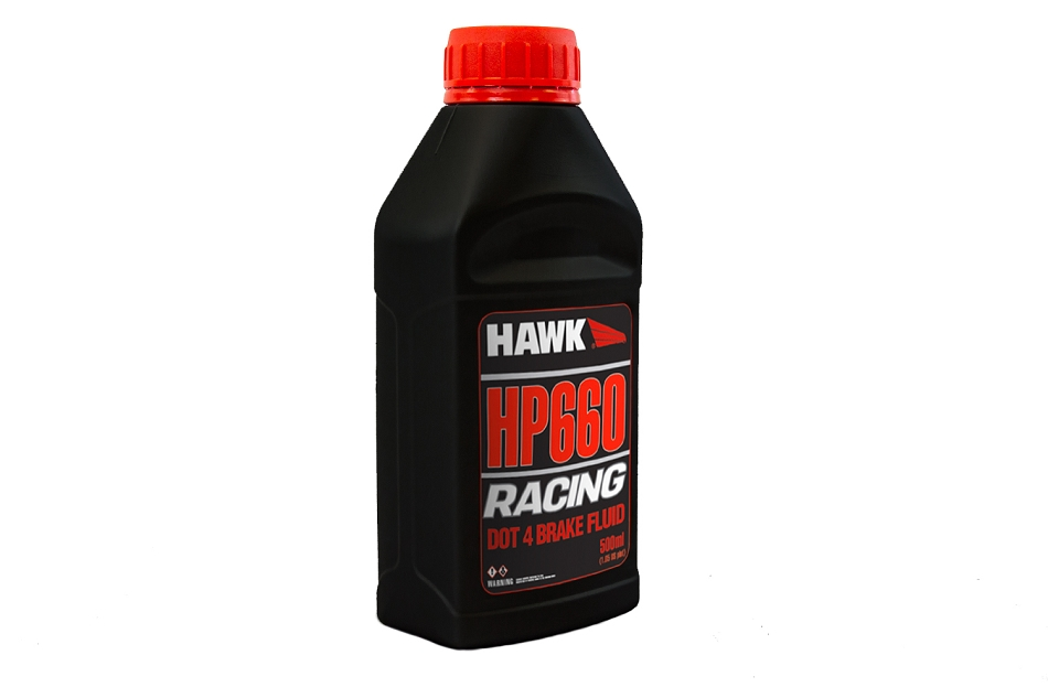 Hawk HP660 DOT 4 Racing Brake Fluid