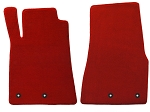 Lloyd Mats Mustang Red Floor Mats - Front only (11-12 All)