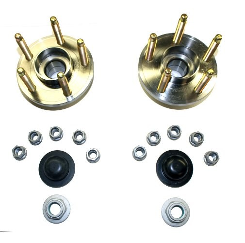 Ford Performance Mustang Front Wheel Hub Kit w/ 3