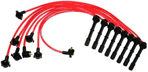 Ford Performance SVT Cobra Mustang 9MM Red Spark Plug Wires (1996-1998)