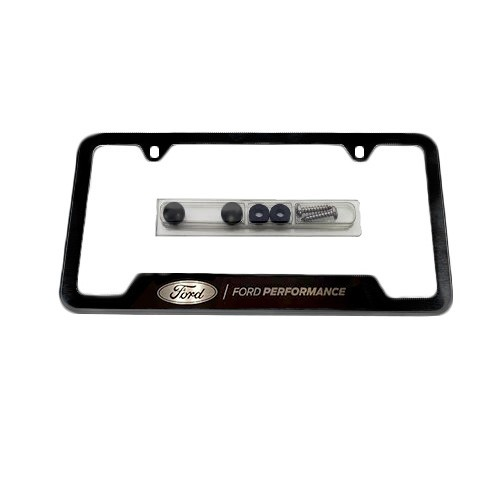 Ford Performance Black Stainless Steel License Plate Frame
