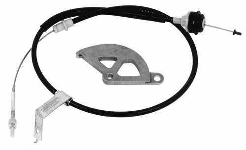 Ford Performance V8 Mustang Adjustable Clutch Cable and Quadrant Kit (1982-1995)