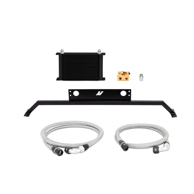 Mishimoto Mustang GT Oil Cooler Kit - Black (2011-2014)