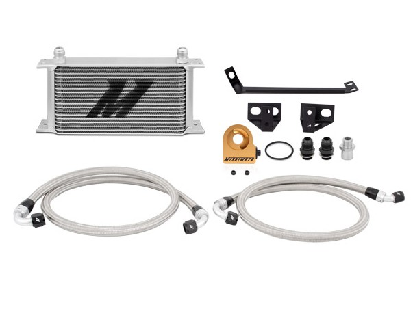 Mishimoto Mustang EcoBoost Thermostatic Oil Cooler Kit (2015-2020)