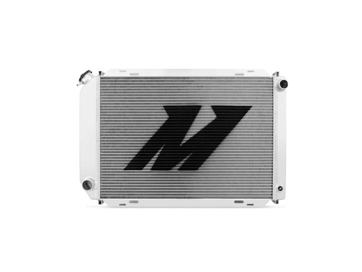 Mishimoto Mustang 5.0L Performance Aluminum Radiator - Manual (1979-1993)