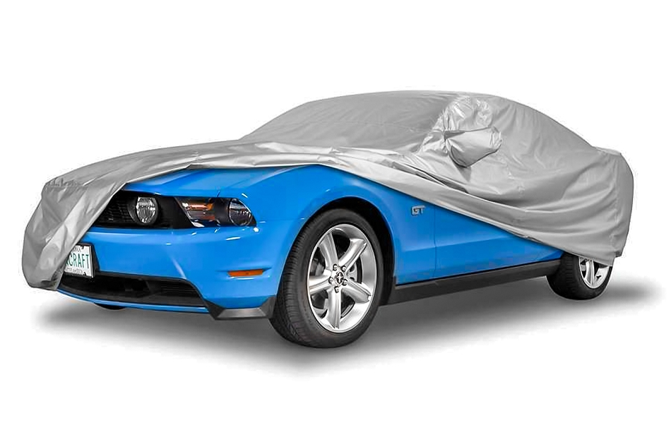 Covercraft Mustang GT/Cobra Reflectect Exterior Silver Car Cover (1987-1993)