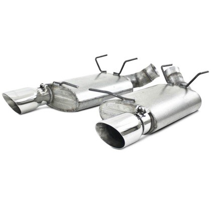 MBRP Mustang GT/BOSS 302 Installer Series Axle-Back Exhaust (2011-2014)