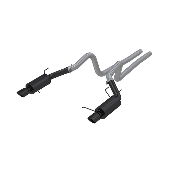 MBRP Mustang GT Black-Series Street Cat-Back Exhaust (2011-2014)