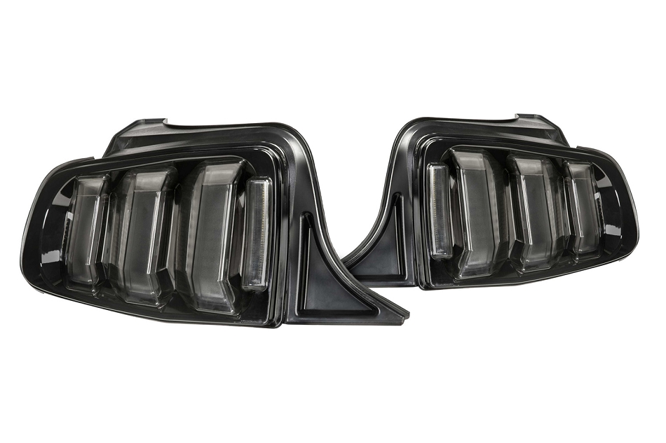 Morimoto Mustang XB LED Facelift Tail Lights - Smoked (2010-2012)