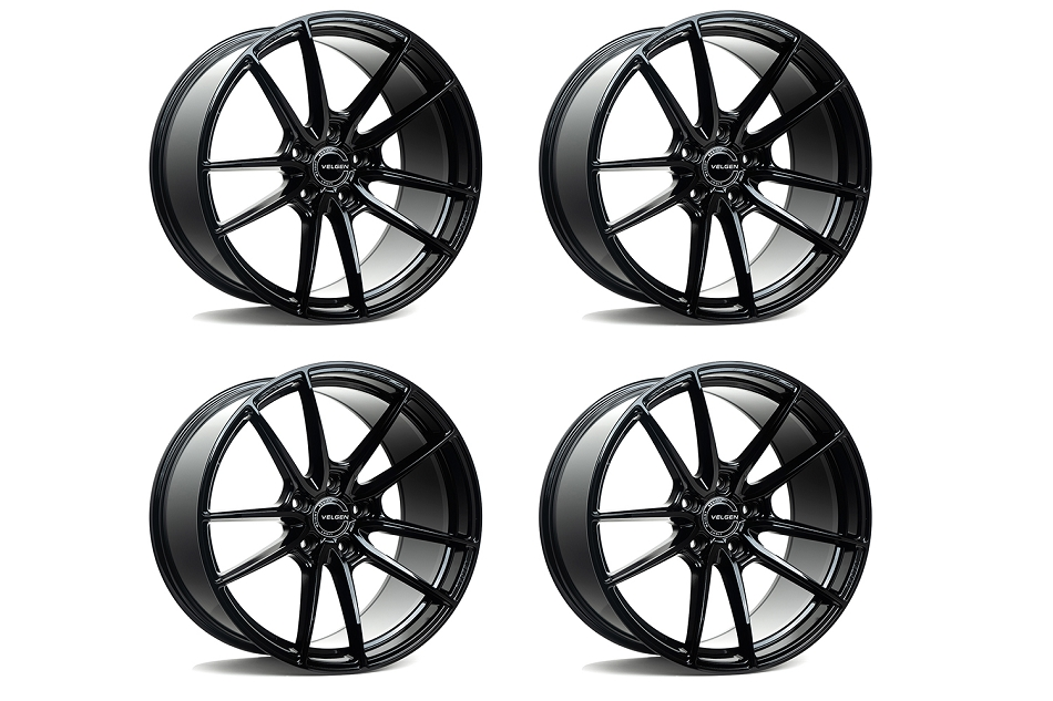 Velgen Wheels Mustang VF5 Gloss Black Staggered Wheel Package - 20x10/11 (2005-2021)