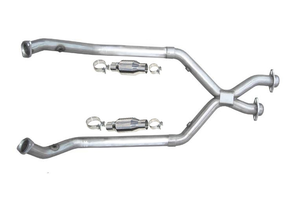 Pypes Mustang V6 Catted X-Pipe (1998-2004)