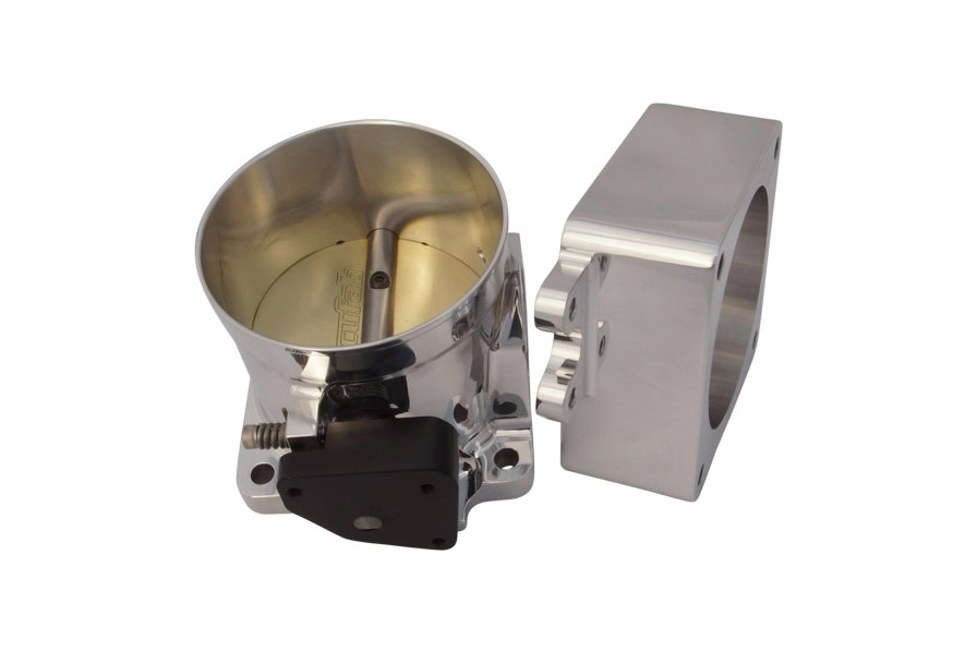 Accufab Mustang 5.0L 90mm Race Throttle Body w/ Spacer (1986-1993)