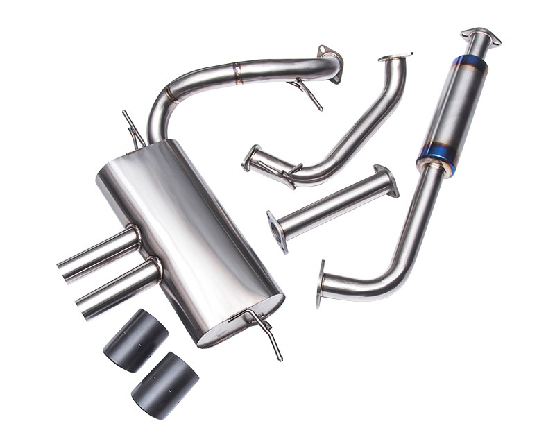 Agency Power Focus Titanium Catback Exhaust w/Carbon Tips (13-17 ST)