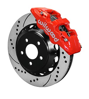 Wilwood Mustang AERO6 Street Front Big Brake Kit - 15