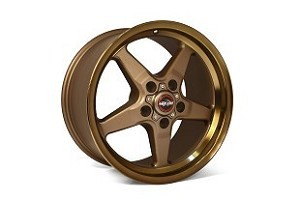 Race Star Mustang 92 Drag Star Bronze Wheel - 20x6 (2005-2021)