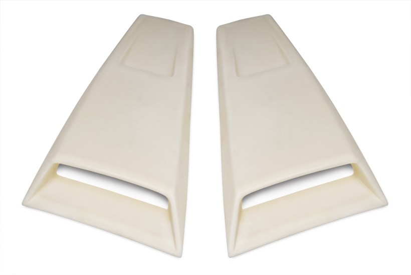 Cervini's Mustang C-Series Quarter Window Scoops (2005-2009)