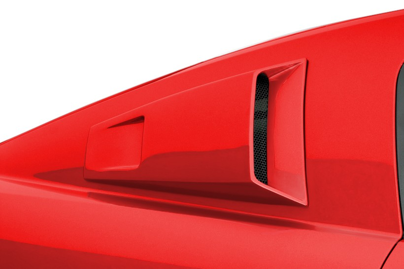 Cervini's GT500 C-Series Quarter Window Scoops (2007-2009)