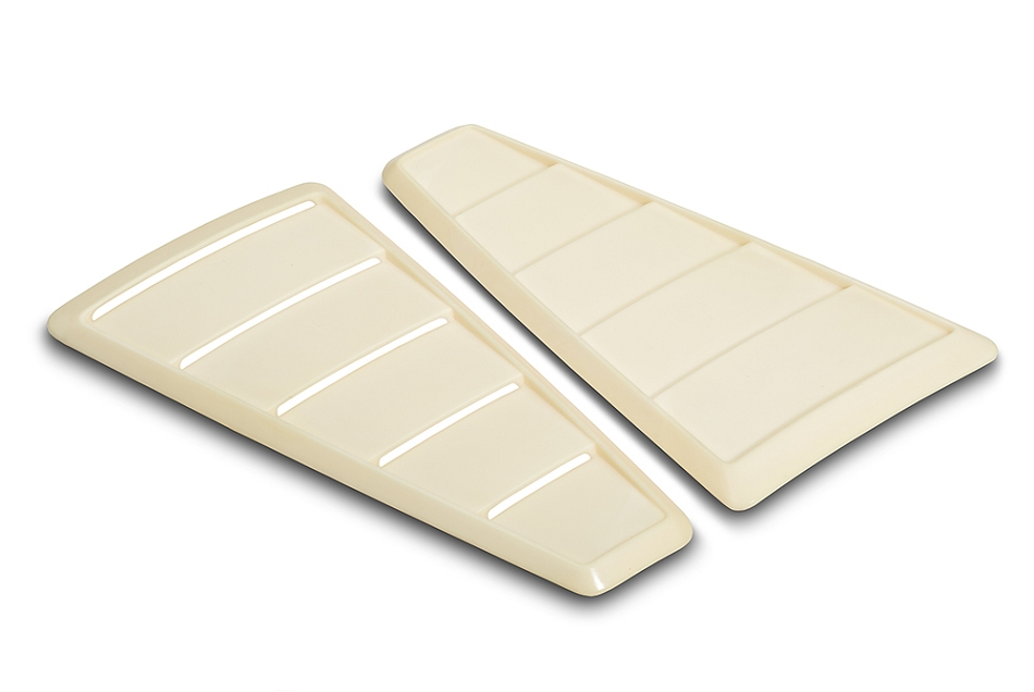 Cervini's Mustang 65' Style Quarter Window Louvers (2005-2009)