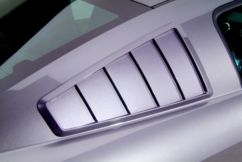 Cervini's GT500 65' Style Quarter Window Louvers (2007-2009)