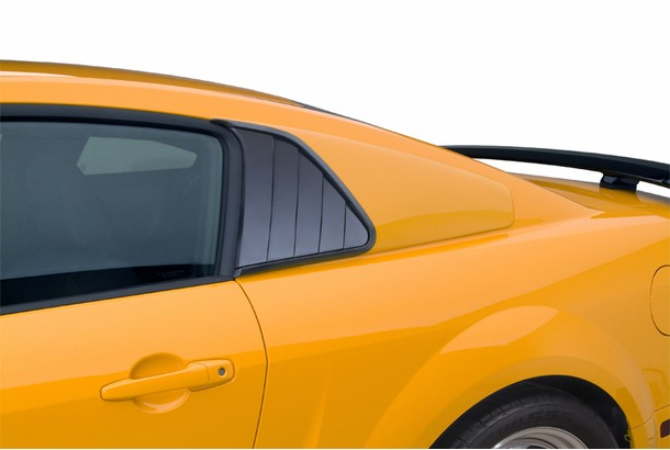 Cervini's Mustang Quarter Window Covers (2005-2009)