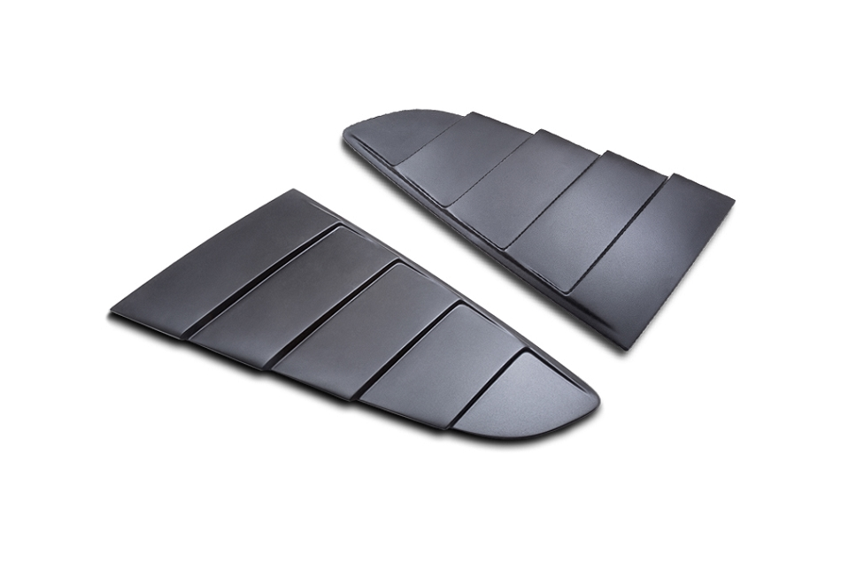 Cervini's Mustang Quarter Window Louvers (2015-2021)