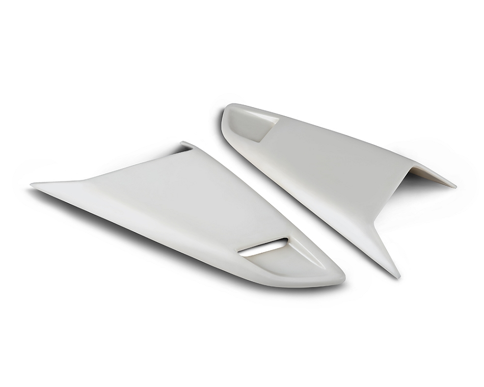Cervini's Mustang Eleanor Style Quarter Window Scoops (2015-2021)