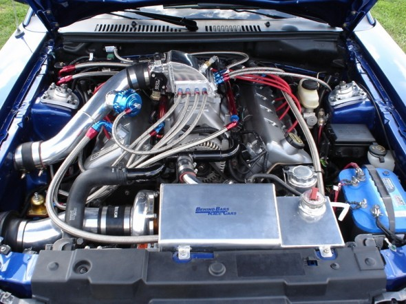 Hellion Power Systems Mustang Cobra Single Turbo System (2003-2004)