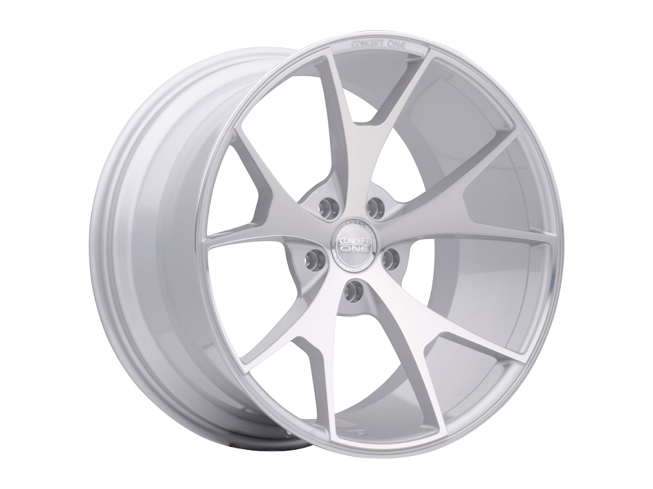 Concept One Wheels CSM5 Silver Machined 20x10-20x11 (2005-2021)