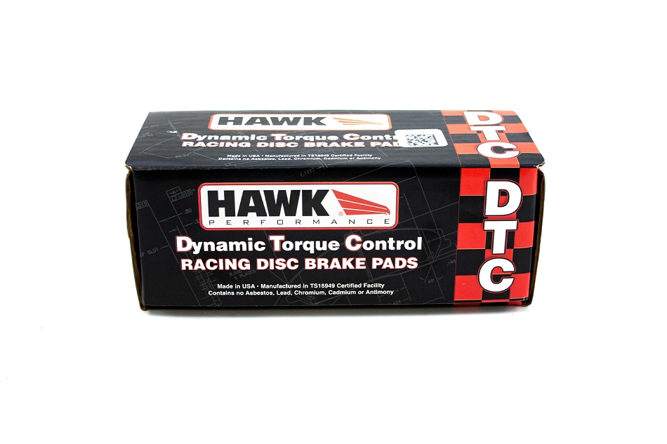 Hawk Mustang V6/GT/Cobra DTC-60 Rear Brake Pads (1994-2004)
