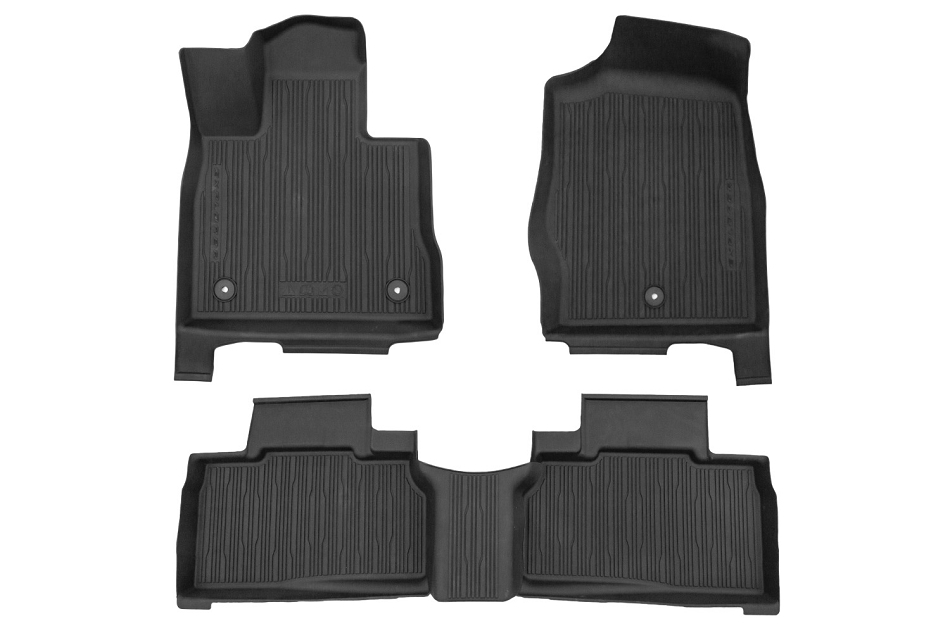 Ford Explorer All-Weather Floor Liners (2020-2021)